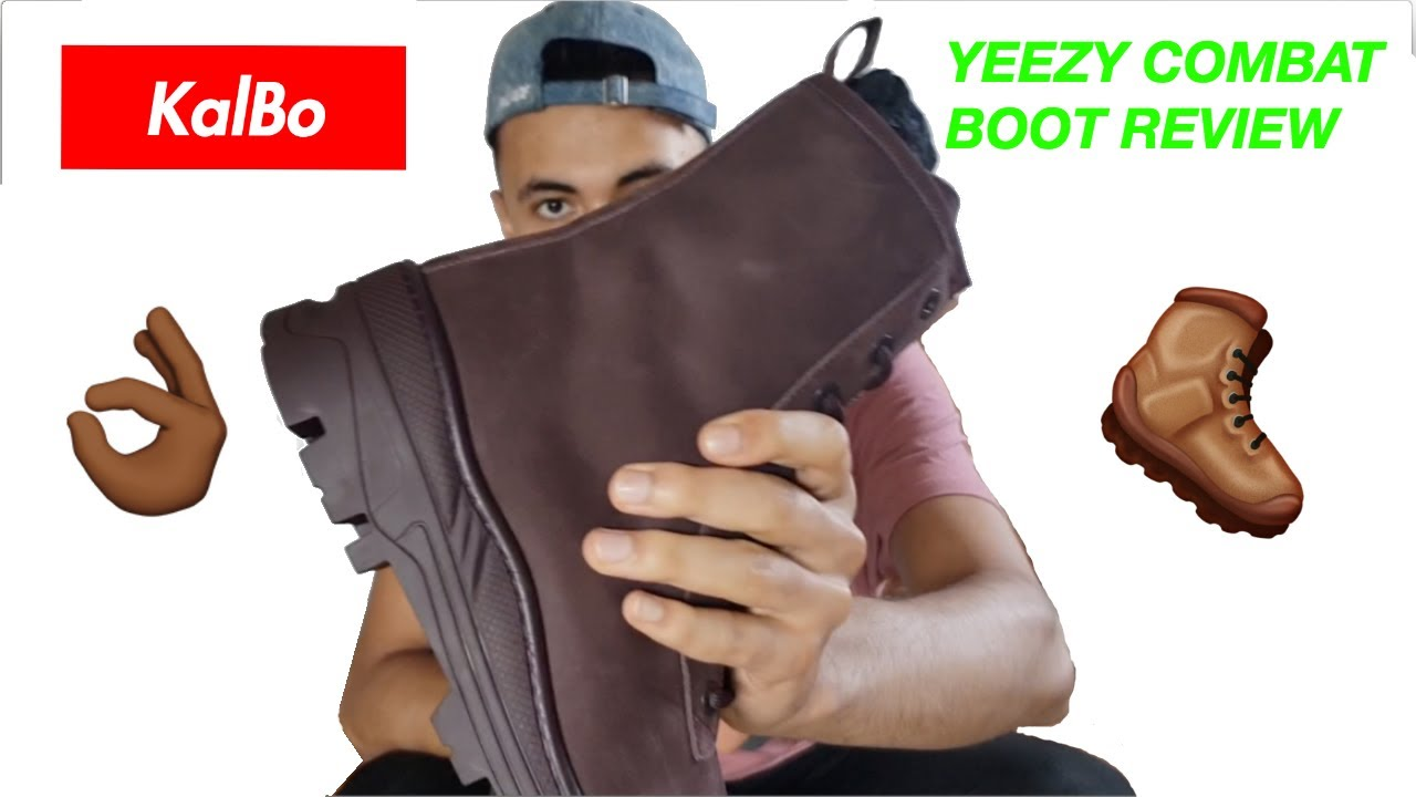 8323be641 YEEZY SEASON 6 COMBAT BOOT UNBOXING AND ONFOOT - YouTube