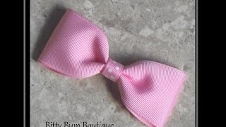 How To Make A Simple Boutique Hair Bow