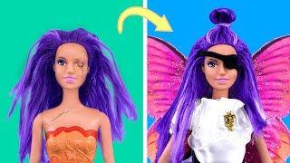 20 лайфхаков для старых кукол Барби / Пиратская вечеринка для кукол / Видео