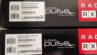 Мини-ферма на две видеокарты Sapphire Pulse Radeon RX 560