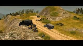 Codename Panzers Phase 1 gameplay