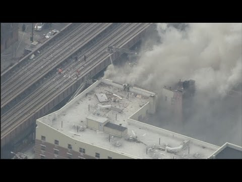 New York building collapses following explosion in Harlem