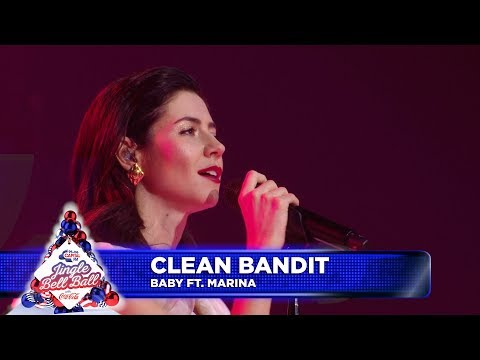 Clean Bandit - 'Baby' FT. Marina (Live at Capital's Jingle Bell Ball)