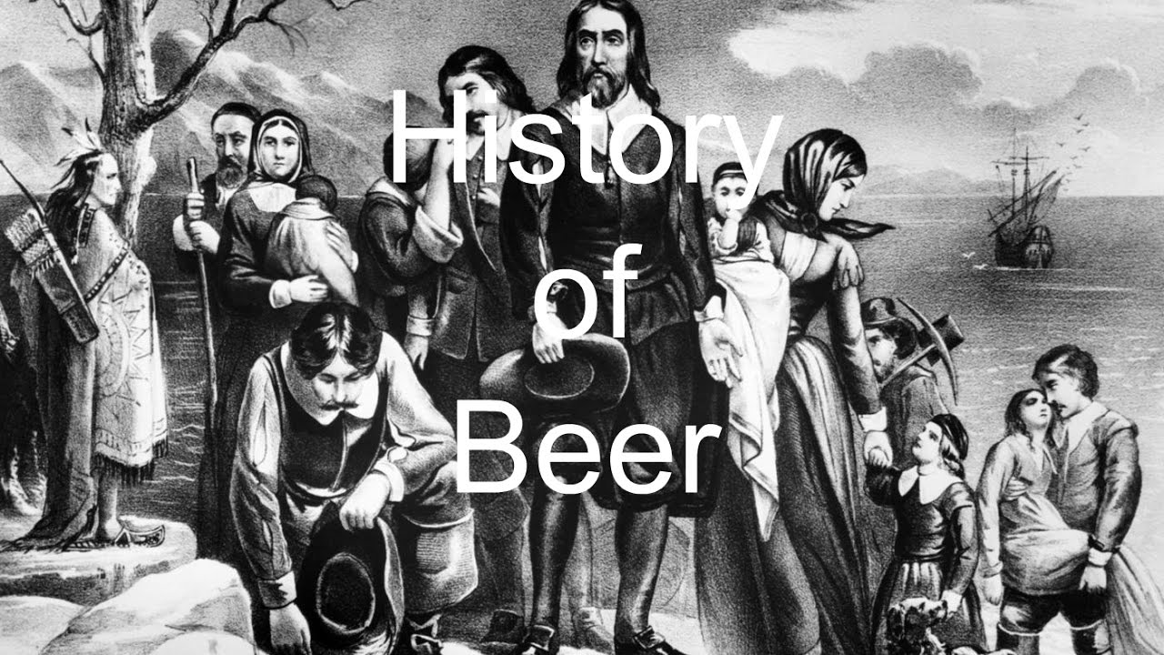 the history of the production and consumption of beer