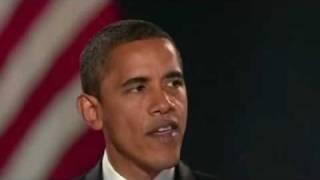 (1/2) Obama: discorso alla vittoria delle elezioni - 4.11.2008 - CON SOTTOTITOLI
