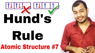 Hund's Rule |Atomic Structure 07 |Rules for Filling OF Electron| Hund's Rule of Maximum Multiplicity