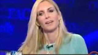 Ann Coulter ADMITS the Republican Party is full of Racists...