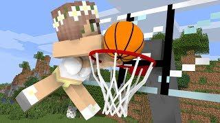 Monster School: Basketball Challenge - Minecraft Animation