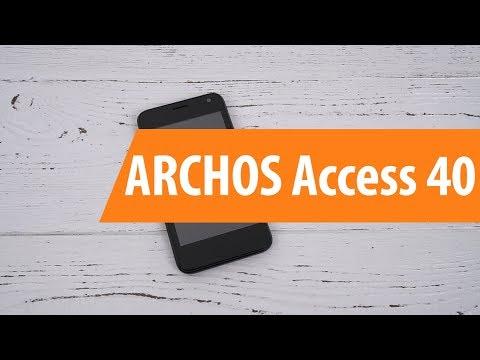 Распаковка ARCHOS Access 40 / Unboxing ARCHOS Access 40