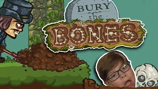 BURY THE BONES!! | Free Online Games for Kids | Halloween 2016