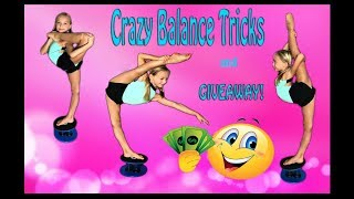 Lilly K CRAZY Balance Tricks and Giveaway!$!$!