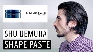 Shu Uemura Shape Paste   Hair Paste Review (Men's Long Hair)