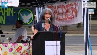 8. Friedensmahnwache in Wien: Clarissa über das Schulsystem (16.6.2014)