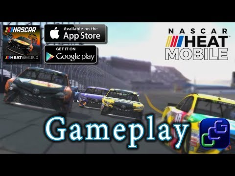 Nascar Heat Mobile IOS Gameplay
