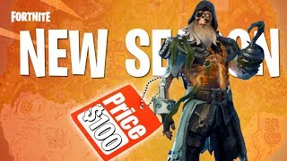 All NEW Season 8 Skins - Unlocking THE FULL Fortnite Battle Pass!