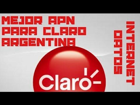 Mejor APN para internet y datos de Claro Argentina - Celulares Y Tutoriales.