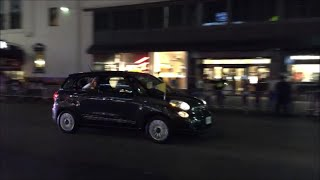 United States Secret Service & NYPD Escorting Pope Francis Motorcade On 34th Street