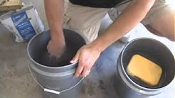 How To Mix Grout