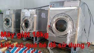 Máy giặt công nghiệp 18kg model HE-40, Image - Thái Lan