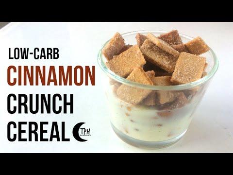Keto Cinnamon Crunch Cereal | Low-Carb Cinnamon Toast Crunch Recipe | Sugar-Free Breakfast Cereal