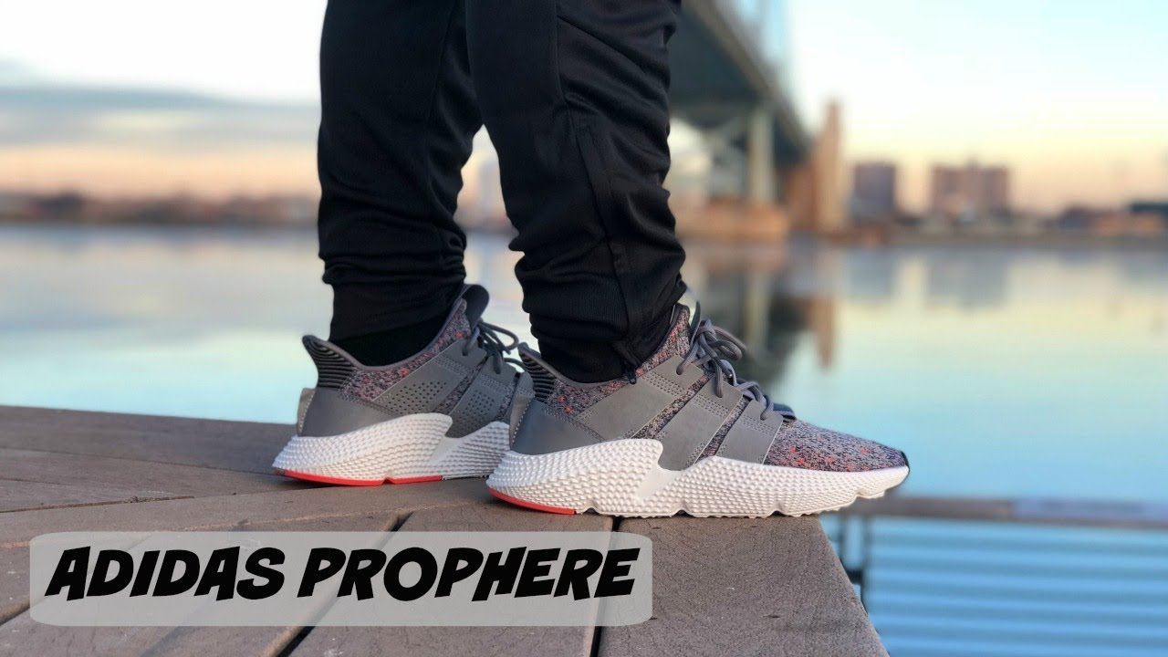 HONEST REVIEW OF THE GREY ADIDAS PROPHERE!! GREY ADIDAS PROPHERE REVIEW AND  ON FOOT LOOK!!! 8cbb92a9f