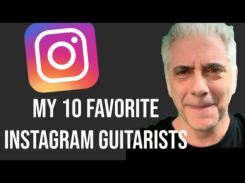 My 10 Favorite Guitarists On Instagram 2019