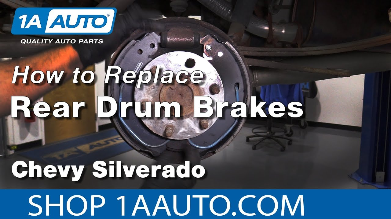 how to replace drum brakes 07 13 chevy silverado 2000 chevy 1500 rear brake assembly diagram chevy 1500 rear brake diagram #12