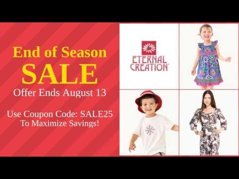 Eternal Creation End of Season Sale