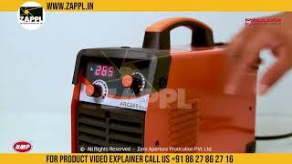HMP ARC 200G Single Phase Inverter Welding Machine by zappl