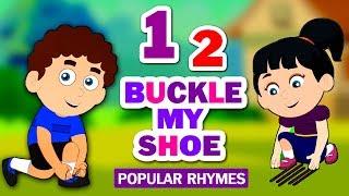 One Two Buckle My Shoe   Nursery Rhymes   Kindergarten Song   Children Rhymes   Koo Koo TV