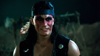 Liu Kang meets Nightwolf | Mortal Kombat: Annihilation (1997)