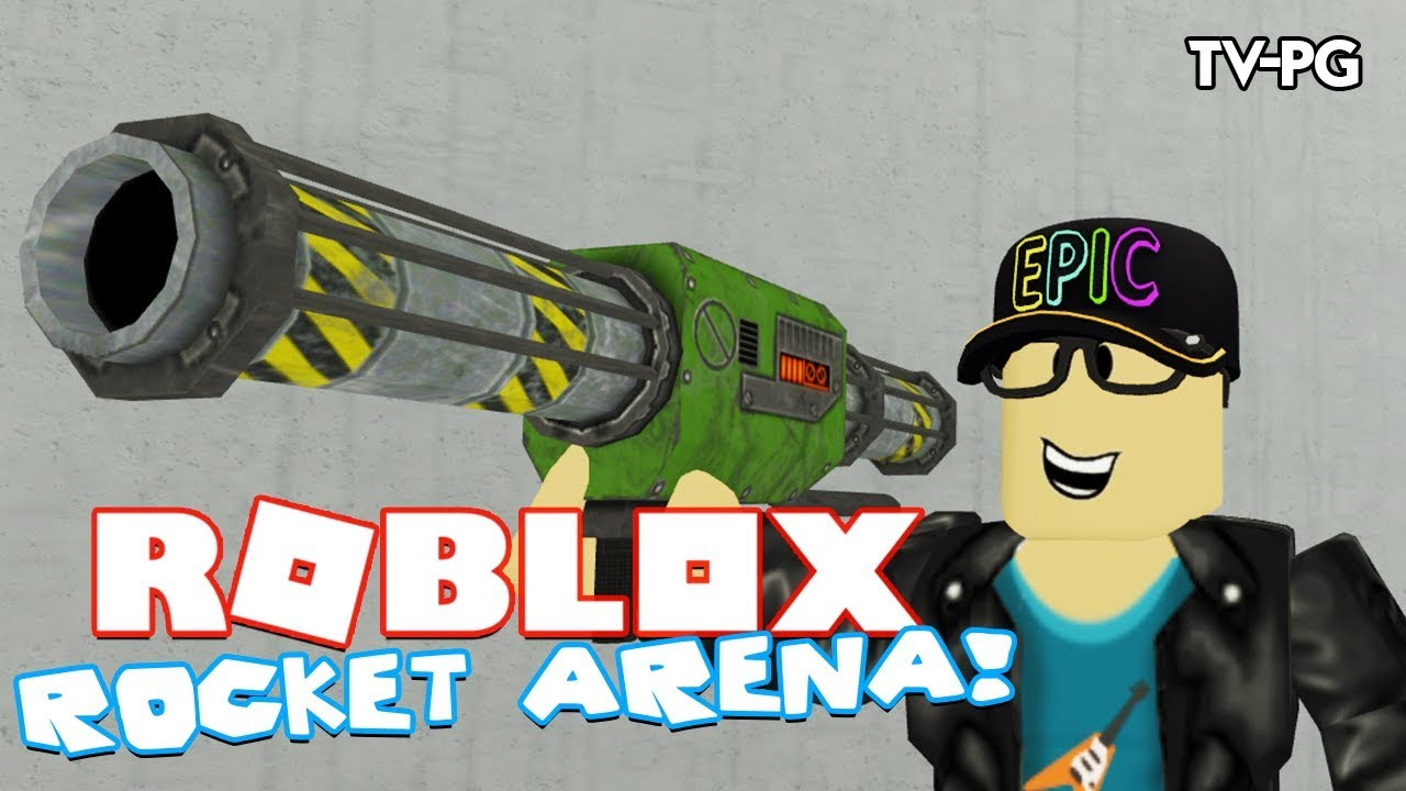 I MADE MY FIRST ROBLOX GAME!   Roblox Rocket Arena