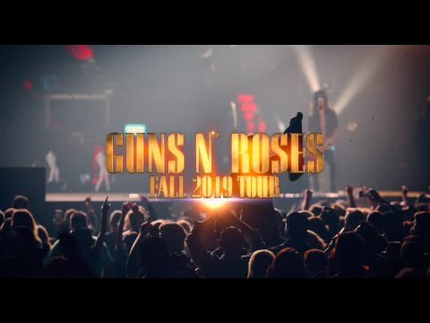 Guns N' Roses - Not In This Lifetime, Fall 2019 Tour