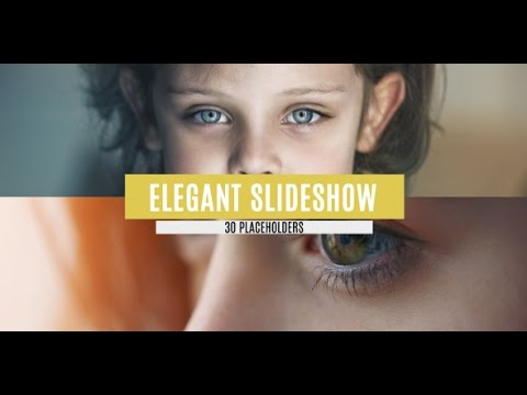 free after effects cs5 template - elegant slideshow - youtube, Presentation templates