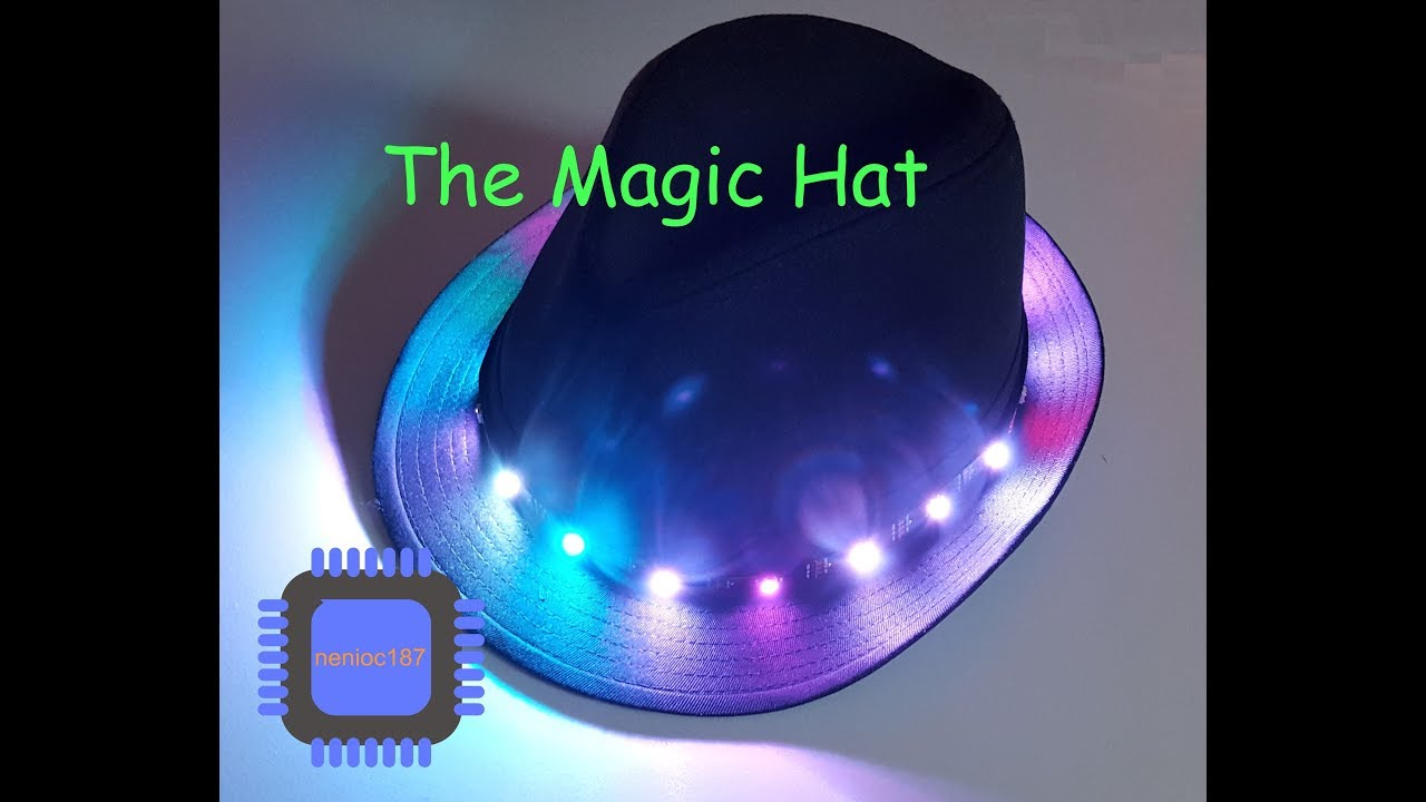 Magic Hat - A wearable IoT Project