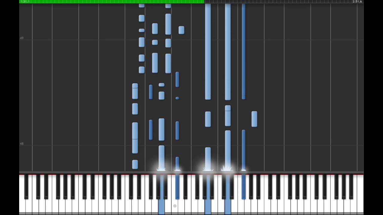 Cigarette Daydreams Cage The Elephant Synthesia Midi Tutorial With Free Midi Youtube