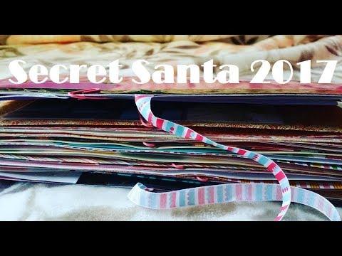 Secret Santa 2017: Binder Planner + Chunky Junk Journal + Other Crafty Stuff
