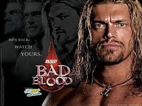 Image result for WWE Bad Blood 2004 poster