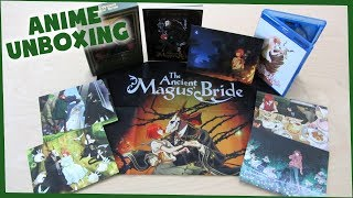 The Ancient Magus Bride Part 1 Limited Edition Blu-ray Unboxing