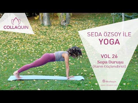 Seda Özsoy ile Yoga | Vol 26 | Sopa Duruşu (Karın Güçlendirici)