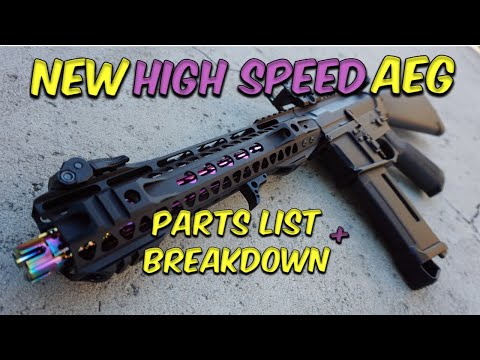Lets Talk Airsoft - New Custom High Speed AEG Build (The Airsoft Life #43)