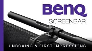 BenQ Screenbar E-Reading Lamp - Unboxing & First Impressions