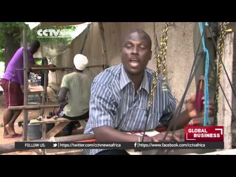Traditional Senegalese weavers struggle to remain in business