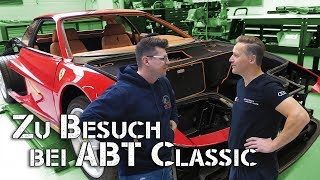 Zu Besuch bei ABT Classic | Ferrari Porsche Spyder Corvette