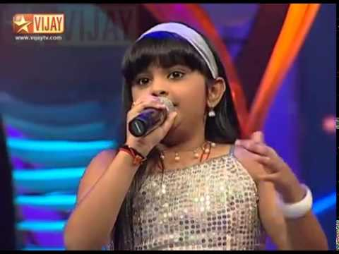 Hello Mister Ethirkatchi by SSJ06 Pravasthi and Malgudi Subha  ( Airtel Super Singer Junior 4 )
