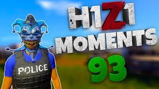 H1Z1 - BEST MOMENTS AND STREAM HIGHLIGHTS #93