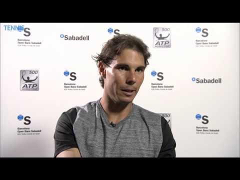 Rafael Nadal Talks About Opening Barcelona Win