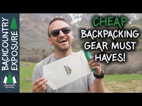 buy backpacker gear