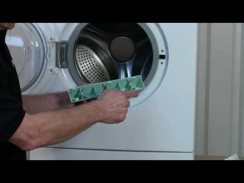 remove washing machine drum