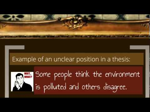 thesis statement for character analysis essay example